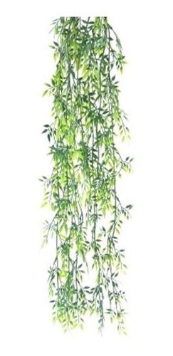 2 X Folhagem De Bambu Mossô Pendente Artificial Arranjos