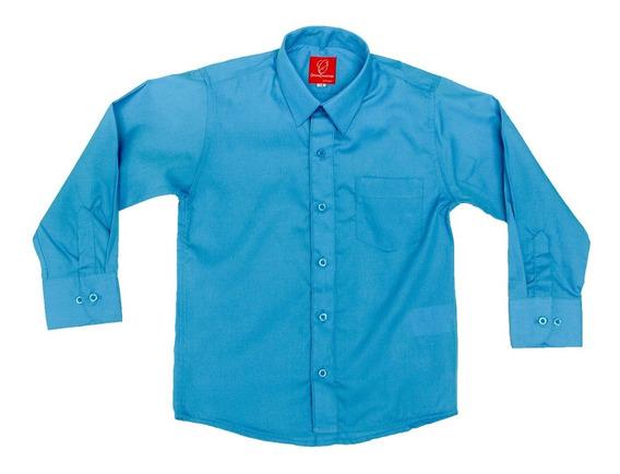 Camisa Manga Larga Oscar Collection 1 2 3 3x Y Moño Tirantes