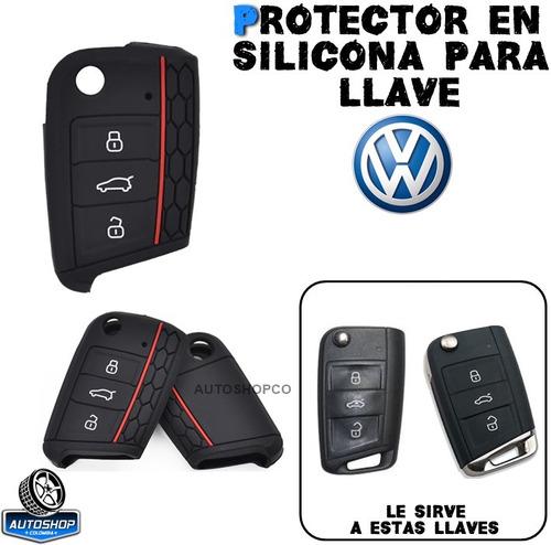 Forro Protector Llave Volkswagen Golf Tiguan Nuevo Mk7