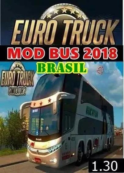 Ets2 Mod Bus Brasil Pc 2018 Hd C/ 320 Cidades Envio Agora
