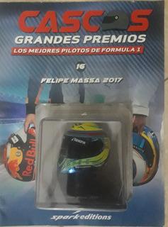 Casco En Escala Fórmula 1 De Felipe Masa 2017.