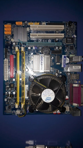 Kit Placa Mãe, Processador Dual Core, 4 Gb Ram , Cooler