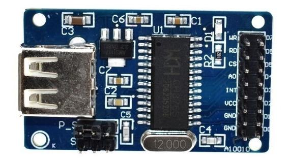 Controlador Fat Pen Drive Ch376 Ch376s Arduino Itytarg