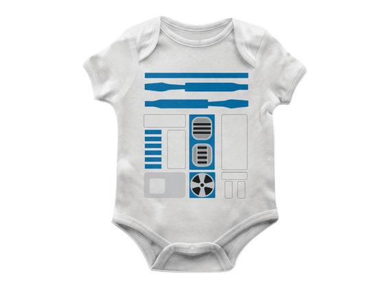 Body Bebê R2d2 Tam G Artgeek