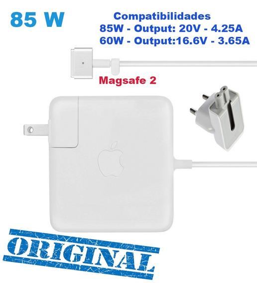 Fonte Carregador Orig. Com Logo Macsafe 2 Pró 85w E 60w