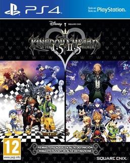 Kingdom Hearts Hd Remix 1.5 + 2.5 Ps4 Nuevo Fisico Sellado
