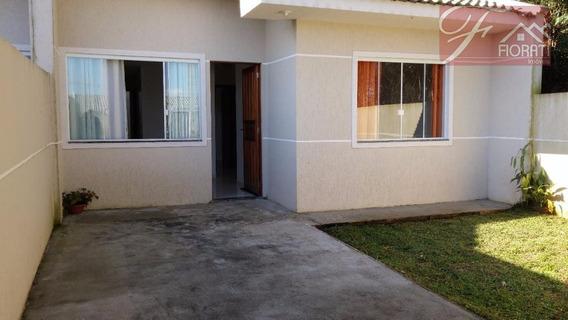 Casa Residencial Para Locação, Campo Largo Da Roseira, São José Dos Pinhais. - Ca0177