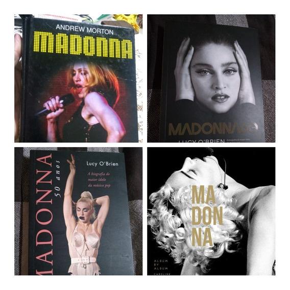 Lote 4 Livros Madonna + Frete Grátis Lucy Andrew Caroline