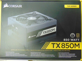 Fonte Corsair 850w Tx M 80plus Gold Atx12v