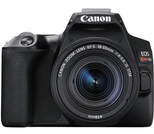 Câmera Digital Canon Rebel Sl3 C/ 18-55mm Brasil 12x S/juros