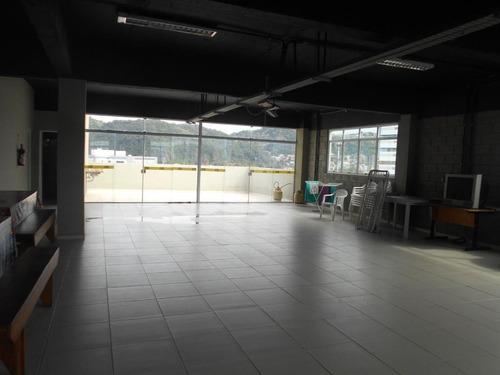 Andar Corporativo Comercial Para Alugar, 476 M² Por R$ 9.000/mês - Vila Matias - Santos/sp - Ac0001