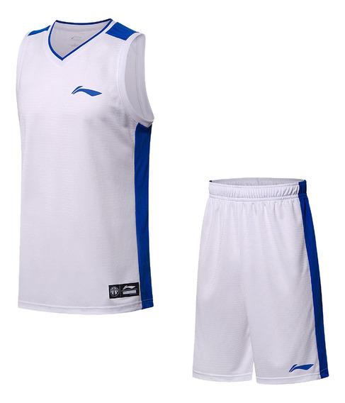 Uniforme Li-ning Basquetbol Blanco