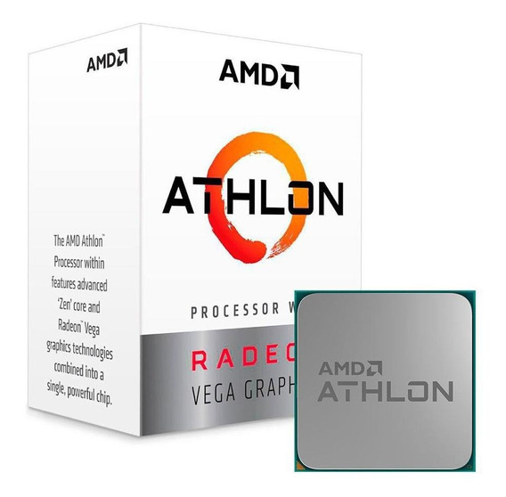 Processador Amd Athlon 200ge Dual Core 3.2ghz 5mb Am4