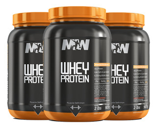 Whey Protein 907g ( Pague 2 Leve 3 ) Mw Suplementos