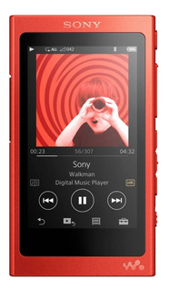 Sony Nw-a35 Red Walkman Reproductor Hi-res Bluetooth 16gb