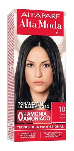 Tonalizante Alta Moda 10 Preto (kit/03 Un)