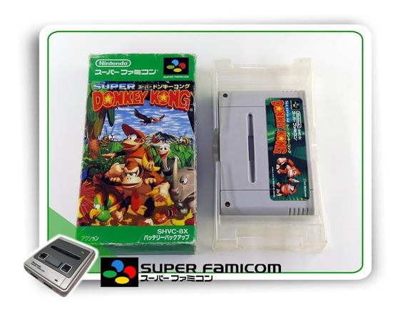 Donkey Kong Country Original Sfc Super Famicom Completo