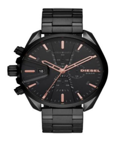 Relógio Diesel Masculino Ms9 Esportivo Preto Dz4524/2pn