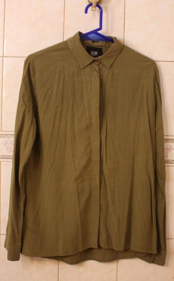 Camisa Verde Militar Marca Complot