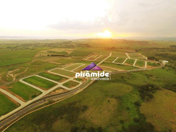 Ultimas Unidades Com A Construtora Terreno À Venda, 540 M² Por R$ 221.400 - Piedade - Caçapava/sp - Te0882