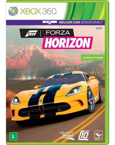 Forza Horizon 1 Xbox 360 E Xbox One Mídia Física Português