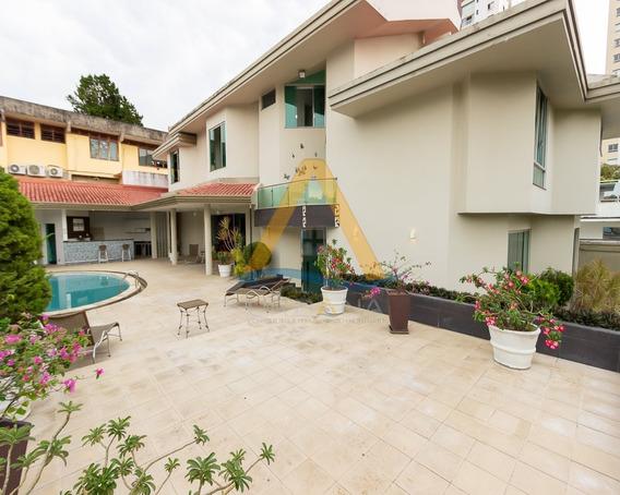 Casa Ampla Para Locação Condomínio Parque Residências, Av. Mario Ypiranga Com 520 M² - Parkreside - 34458603