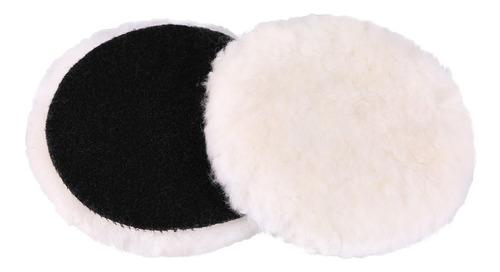 Bonete Para Pulidora Corderito Velcro 4 1/2  Electroimporta