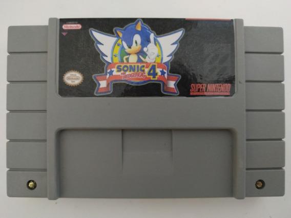 Sonic The Hedgehog 4 Super Nintendo Snes