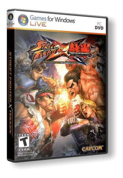 Street Fighter Vs Teken - Pc Dvd Mídia Física Frete 8 Reais