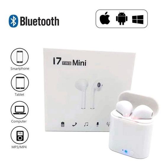 Kit 10 Fone Earphone AirPods I7 Tws Bluetooth Atacado
