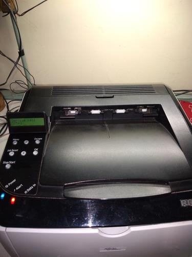 Impressora Ricoh Sp 3510dn Laser Com Defeito Liga E Da Erro