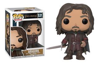 Funko Pop Aragorn #531 Lotr Lord The Rings Señor De Anillos