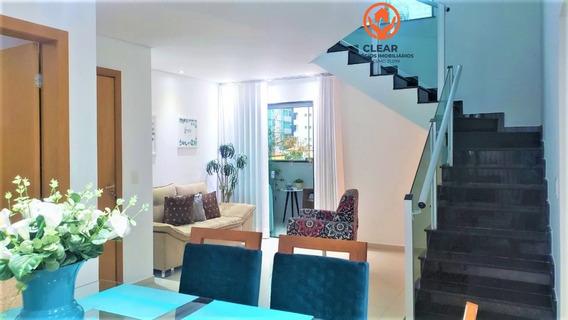 Apartamento A Venda No Bairro Castelo Em Belo Horizonte - - 22094-1