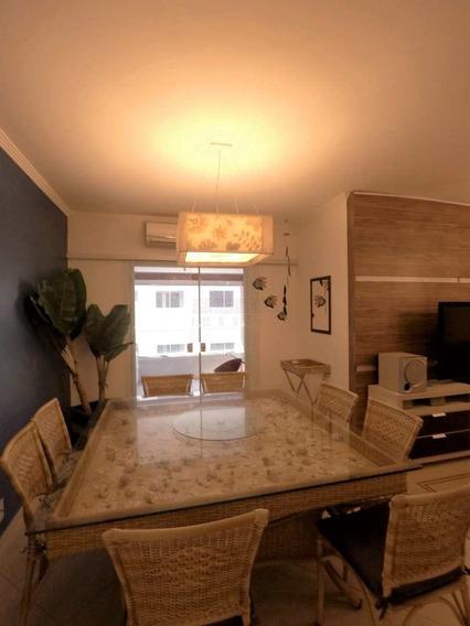 Apartamento 3 Dormitórios Planejado Com Vista Mar. - V88