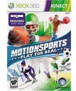 Motionsports: Play For Real - Xbox360 Seminovo