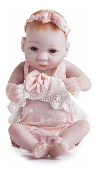 Bm0132 Boneca Renascer Bebê Realista Menina Bebês Bonecas Cr