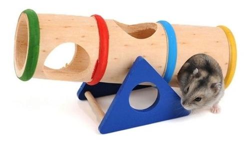 Juguete Articulo Mascota Diseño Madera Sa Hamster Arco