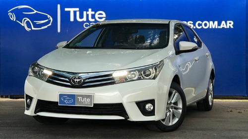 Toyota Corolla Xei 1.8 Mt6 2016 Blanco - Tute Cars Fernando