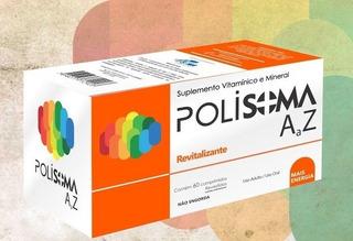 Suplemento Vitamínico E Mineral Polisoma A-z 60caps