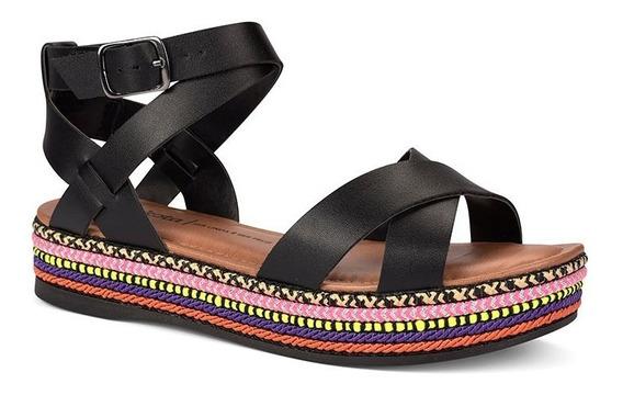 Sandália Dakota Flatform 5,5cm Preto Z5021 Oferta