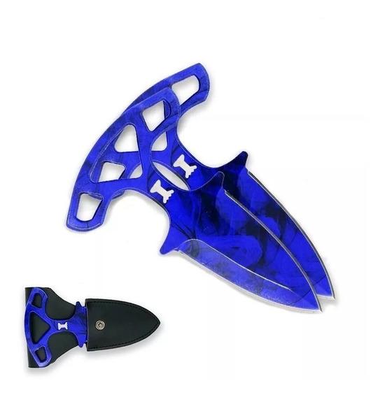 Cuchillo Shadow Dagger Emerald Sapphire Daga Cs Go Csgo Real
