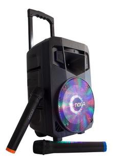 Parlante Portatil Bluetooth Noga 45w Usb Microfono