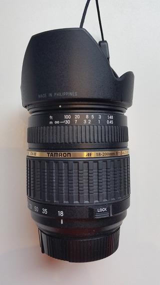 Tamron Af18-200f/3.5-6.3 Xr Di Ll Ld Aspheri(if) Macro Nikon