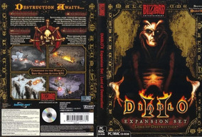 Pc Cd-rom Diablo 2 Expansion Set Novo E Lacrado Ganhe Brinde