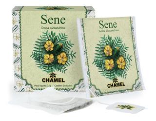 Chá De Sene Com 10 Sachês - Chamel + Brinde*