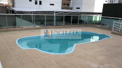 2595 - Apartamento Para Vender No Bessa, João Pessoa Pb - 23161
