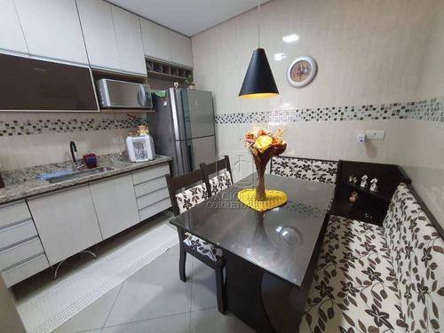 Imagem 1 de 21 de Cobertura Com 2 Dormitórios À Venda, 63 M² Por R$ 390.000,00 - Parque Oratório - Santo André/sp - Co5639