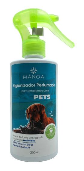 Higienizador Perfumado Manoa 250ml - Pets