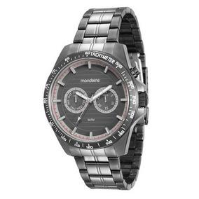 Relógio Mondaine Masculino 99178gpmvsa1 Cinza