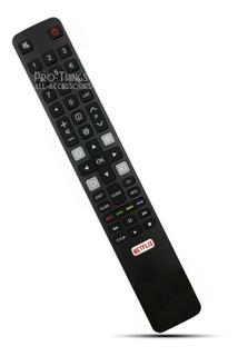 Control Remoto Smart Tv Tcl Rca Hitachi Le32smart14 Netflix